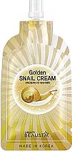 Parfumuri și produse cosmetice Cremă regeneratoare cu mucină de melc pentru față - Beausta Golden Snail Cream