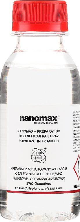 Dezinfectant de mâini și de suprafață - Nanomax Hand And Surface Liquid Disinfectant — Imagine N1