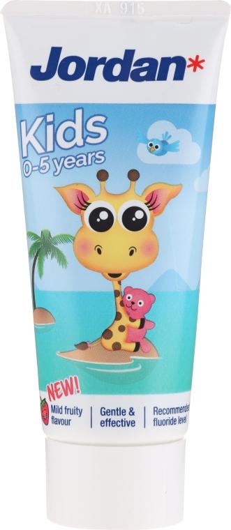 Pastă de dinți 0-5 ani, girafă - Jordan Kids Toothpaste — Imagine N1