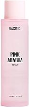 Parfumuri și produse cosmetice Toner facial cu extract de pepene verde, acizi AHA și BHA - Nacific Pink AHA BHA Toner
