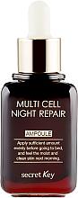 Ser de noapte - Secret Key Multi Cell Night Repair Ampoule — Imagine N2