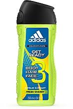 Parfumuri și produse cosmetice Adidas Get Ready for Him - Șampon-gel de duș