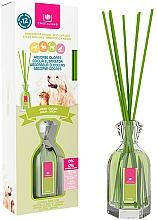 """Parfumuri și produse cosmetice Difuzor aromatic împotriva mirosului animalelor de companie """"Garden"""" - Cristalinas Reed Diffuser"""
