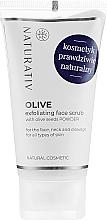 Parfumuri și produse cosmetice Peeling facial - Naturativ Olive Exfolianting Face Scrub