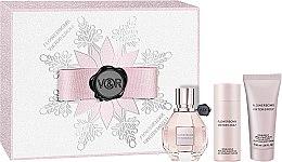 Parfumuri și produse cosmetice Viktor & Rolf Flowerbomb - Set (edp/30ml + sh/gel/50ml + body/cr/40ml)