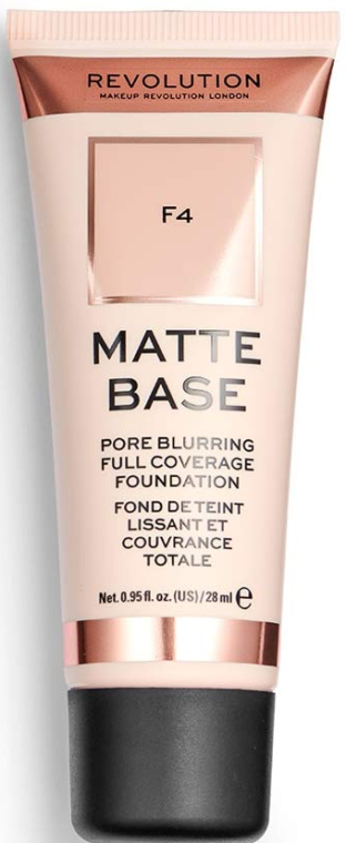 Fond de ten - Makeup Revolution Matte Base Foundation