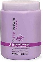 Parfumuri și produse cosmetice Mască pentru păr deteriorat și uscat - Inebrya Ice Cream SheCare Reconstructor Mask