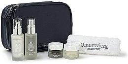 Parfumuri și produse cosmetice Set - Omorovicza Essentials (tonic/30ml + balm/15 ml + f/cr/15ml + f/cr/15ml + towel + bag)