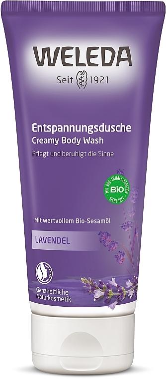 Loțiune de duș cremoasă cu lavandă - Weleda Lavendel Entspannungsdusche — Imagine N1