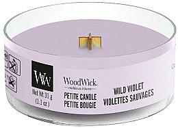 Parfumuri și produse cosmetice Lumânare aromată în suport de sticlă - Woodwick Petite Candle Wild Violet