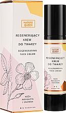 Parfumuri și produse cosmetice Cremă regenerantă pentru față - Nature Queen