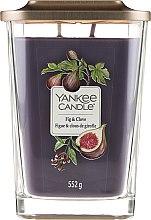 Lumânare aromată - Yankee Candle Elevation Fig & Clove — Imagine N1