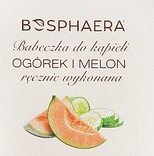 "Parfumuri și produse cosmetice Bombă de baie ""Castraveți și pepene galben"" - Bosphaera"