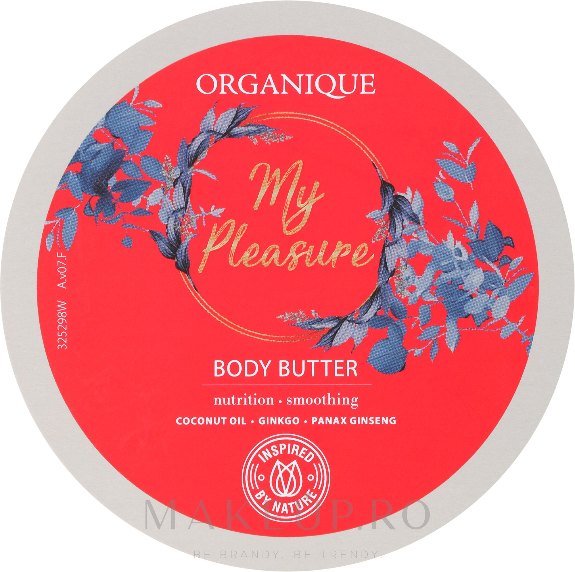 Ulei de corp - Organique My Pleasure Body Butter — Imagine 200 ml