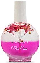 Parfumuri și produse cosmetice Ulei pentru unghii și cuticule - Kabos Nail Oil Pink Flowers