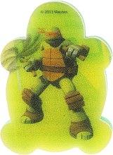 """Parfumuri și produse cosmetice Burete de baie """"Michelangelo 5"""", pentru copii - Suavipiel Turtles Bath Sponge"""