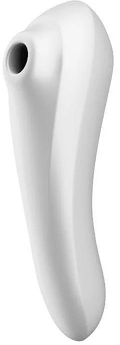 Stimulator de vid, alb - Satisfyer Dual Pleasure White — Imagine N1