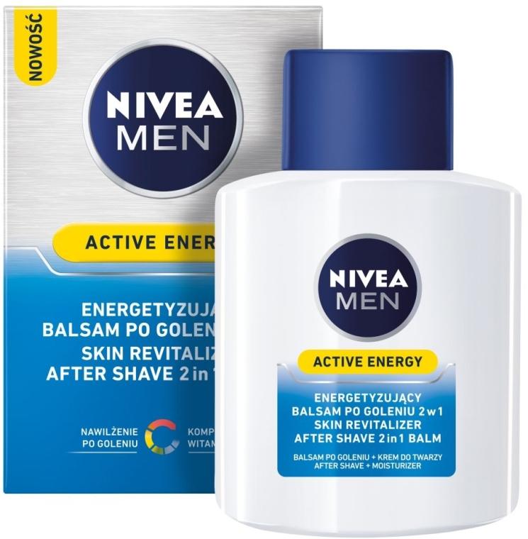 Balsam după ras revitalizant - Nivea For Men Active Energy Skin Revitalizer After Shave Balm — Imagine N1