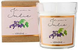 """Parfumuri și produse cosmetice Lumânare parfumată """"Verbena"""" - Ambientair Le Jardin de Julie Verveine"""