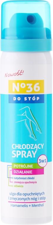 Spray răcoritor pentru picioare 3în1 - Pharma CF No36 Foot Spray 3In1