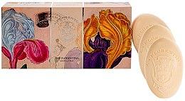 "Parfumuri și produse cosmetice Set săpunuri ""Iris"" - La Florentina Iris Soap"