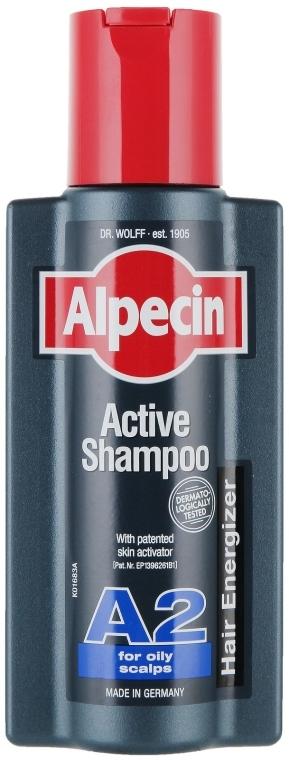 Șampon pentru scalp gras - Alpecin A2 Active Shampoo