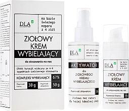 """Parfumuri și produse cosmetice Set """"Complexul de albire"""" - DLA (cr/30g + activ/50g)"""