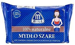 Parfumuri și produse cosmetice Săpun natural gri - Mattes