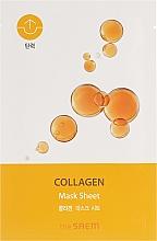 Parfumuri și produse cosmetice Bio-Mască din țesătură pentru față - The Saem Bio Solution Firming Collagen Mask Sheet