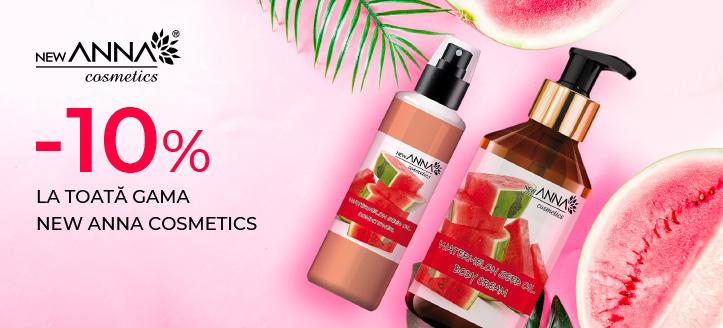Promoție de la New Anna Cosmetics
