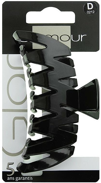 Agrafă de păr, 0212, neagră - Glamour