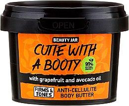 """Parfumuri și produse cosmetice Unt anticelulitic pentru corp """"Cutie With A Booty"""" - Beauty Jar Anti-Cellulite Body Butter"""