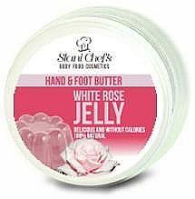 Parfumuri și produse cosmetice Ulei pentru mâini și picioare - Hristina Stani Chef's Hand And Foot Butter White Rose Jelly