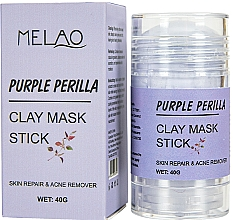 """Parfumuri și produse cosmetice Mască-stick pentru față """"Purple Perilla"""" - Melao Purple Perilla Clay Mask Stick"""