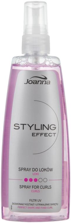 Spray pentru aranjarea părului creț - Joanna Styling Effect Curly Spray — Imagine N1