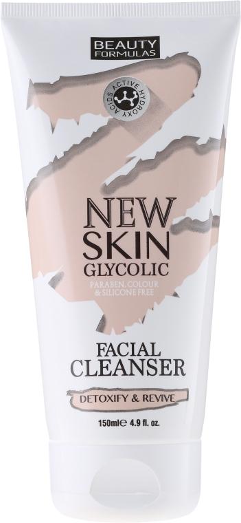 Lăptișor de curățare pentru față - Beauty Formulas New Skin Glycolic Facial Cleanser