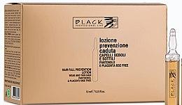 Parfumuri și produse cosmetice Loțiunecu pantenol și placentă împotriva căderii părului - Black Professional Line Panthenol & Placenta Lotion