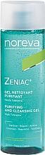 Parfumuri și produse cosmetice Gel de curățare pentru față - Noreva Laboratoires Zeniac Purifying And Cleansing Gel