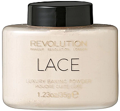 Parfumuri și produse cosmetice Pudră de față - Makeup Revolution Lace Luxury Baking Powder