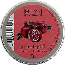 "Cremă de corp ""Rodie"" - Styx Naturcosmetic Body Cream — Imagine N3"