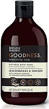 Parfumuri și produse cosmetice Spumă de baie - Baylis & Harding Goodness Lemongrass & Ginger Natural Bath Soak