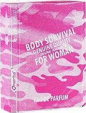 Parfumuri și produse cosmetice Omerta Body Survival For Woman - Apă de parfum