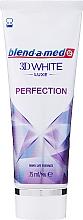 Parfumuri și produse cosmetice Pastă de dinți - Blend-a-med 3D White Luxe Perfection