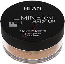 Parfumuri și produse cosmetice Pudră minerală pentru față - Hean Mineral Make Up Cover&Matte Loose Mineral Powder