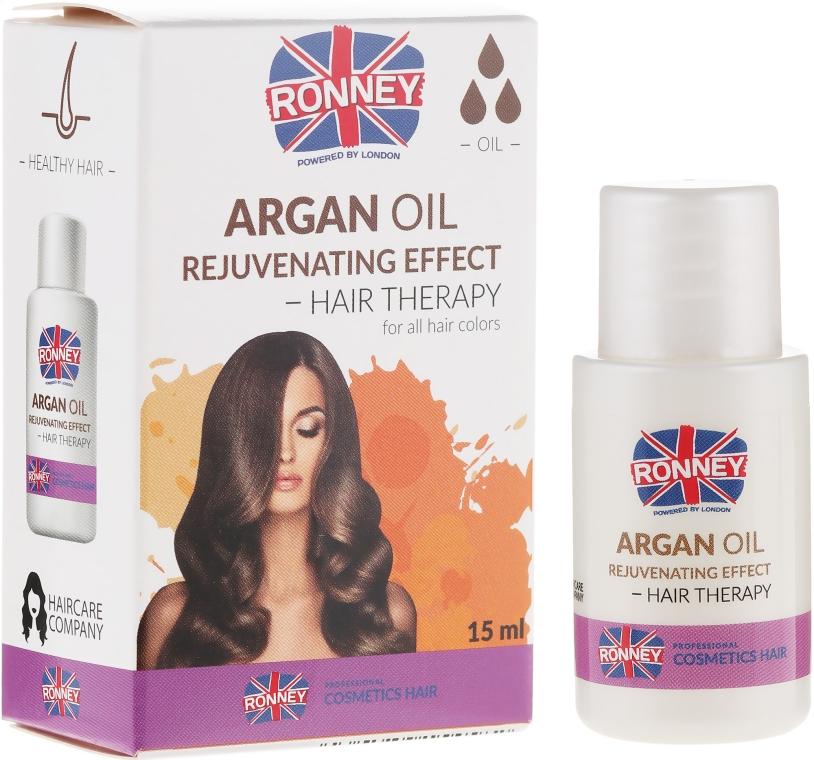 Ulei de păr - Ronney Professional Argan Oil Rejuvenating Hair Therapy
