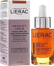 Parfumuri și produse cosmetice Ser cu vitamine împotriva oboselii - Lierac Mesolift Serum