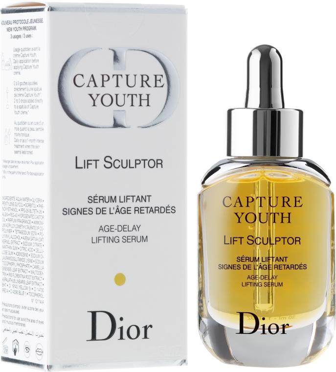 Ser-Lifting pentru față - Dior Capture Youth Lift Sculptor Age-Delay Lifting Serum — Imagine N1