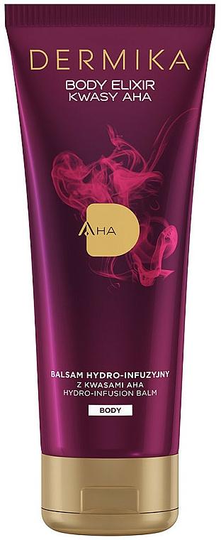 Balsam hidratant pentru corp - Dermika Body Elixir AHA Hydro-Infusion Balm — Imagine N1