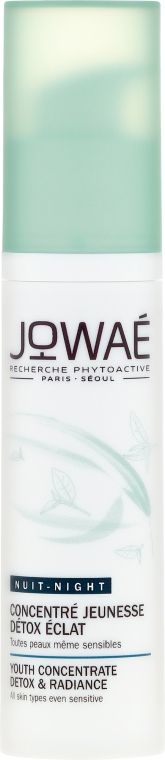 Ser pentru față - Jowae Night Youth Concentrate Detox & Radiance — Imagine N2