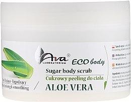 """Scrub pentru corp """"Aloe Vera"""" - Ava Laboratorium Eco Body Natural Sugar Scrub Aloe Vera — Imagine N3"""
